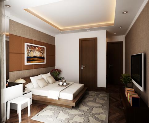 Nội thất phòng ngủ trong chung cư và cách thiết kế